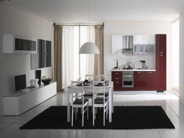 Cucina e soggiorno insieme: idee ed esempi di arredamento