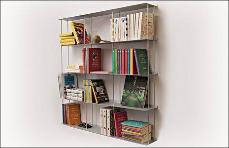 libreria corridoio lungo