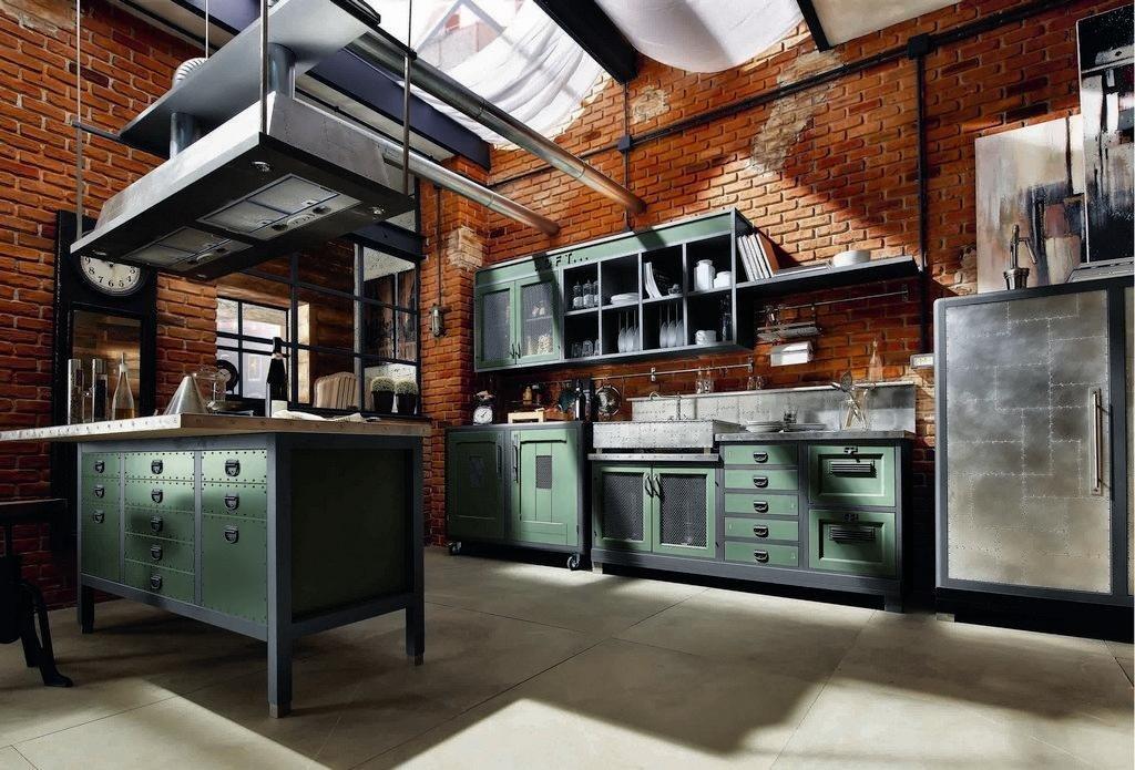 Arredamento industriale mobili e accessori per una casa for Arredamento industriale