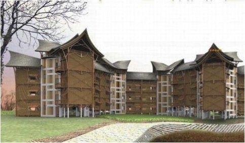 Architettura per la catastrofe alcuni esempi interessanti for Moderni piani di palafitte