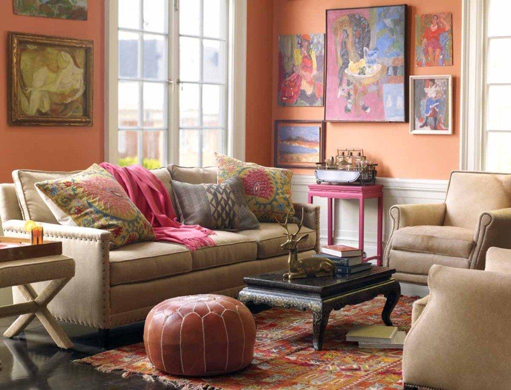 Arredamento etnico moderno consigli per arredare casa for Salotto e soggiorno