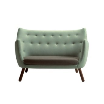Photo of Il divano poet sofà del designer danese Finn Juhl