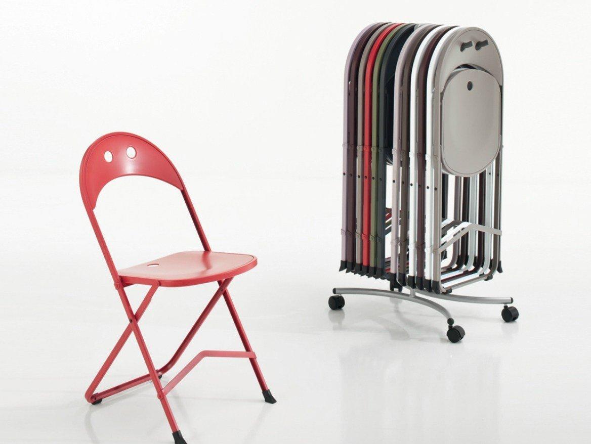 Sedia pieghevole di design 5 modelli for Sedia di design