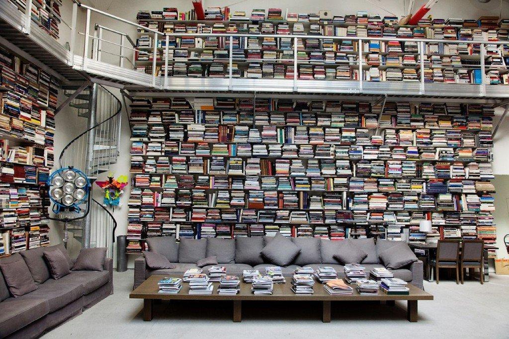 Libreria di Karl Lagerfeld