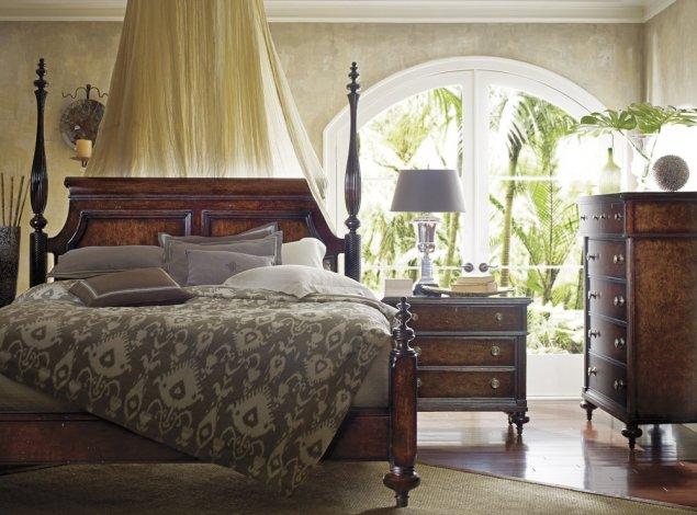 Stile coloniale per arredare la vostra camera da letto
