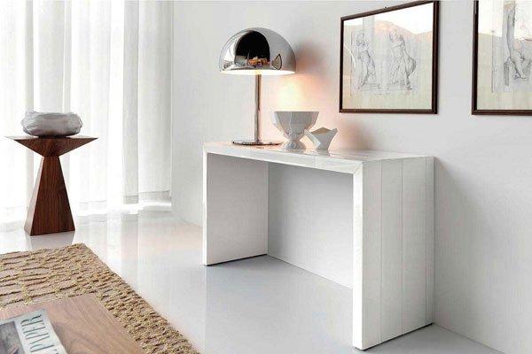 Mobili ingresso soluzioni di arredamento con foto ikea e for Consolle moderne di design