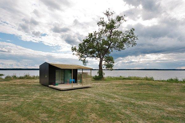 Photo of Mini casa prefabbricata: Jonas Wagell pronta in due giorni