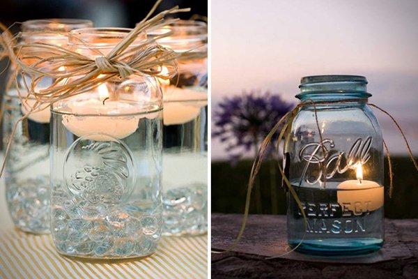 candele-acqua-barattolo