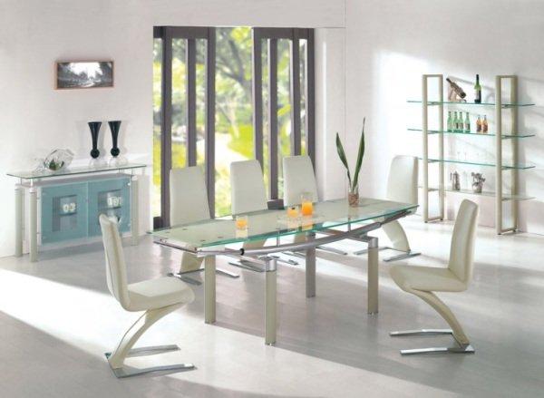 Tavolo In Vetro Con Sedie Moderne.Quali Sedie Abbinare Ad Un Tavolo Col Piano In Vetro
