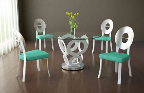 Quali sedie abbinare ad un tavolo col piano in vetro - Sedie per tavolo in vetro ...