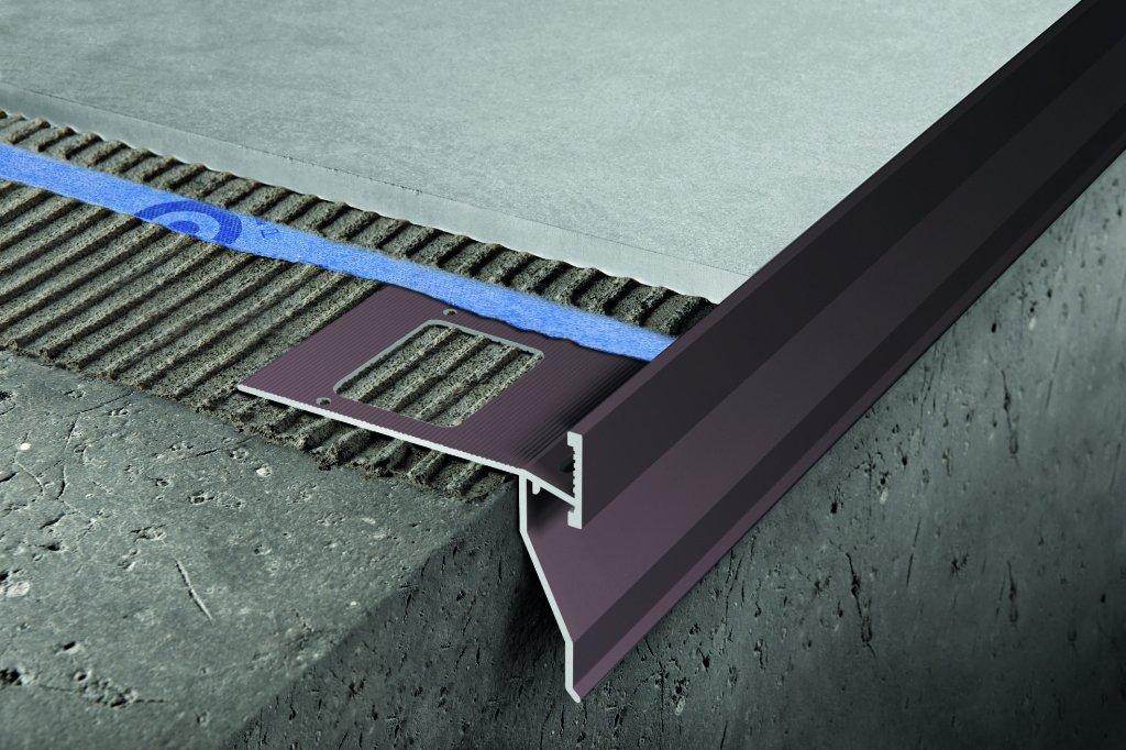 Proterrance drain marrone