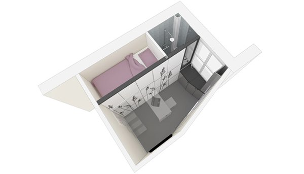 Tiny House 8mq Parigi 1