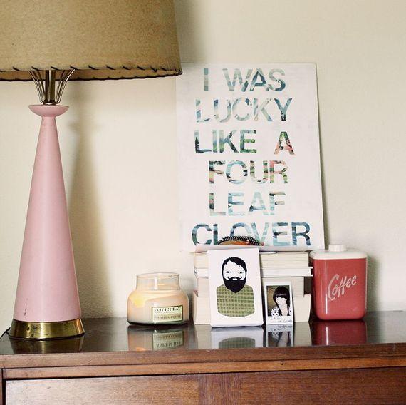 decorazione lettere