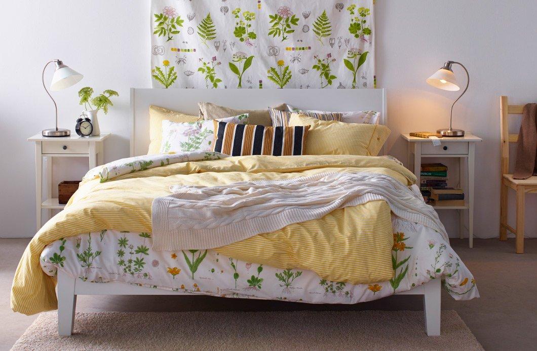 Biancheria per la camera da letto tendenze ispirazioni e - Fiori in camera da letto ...