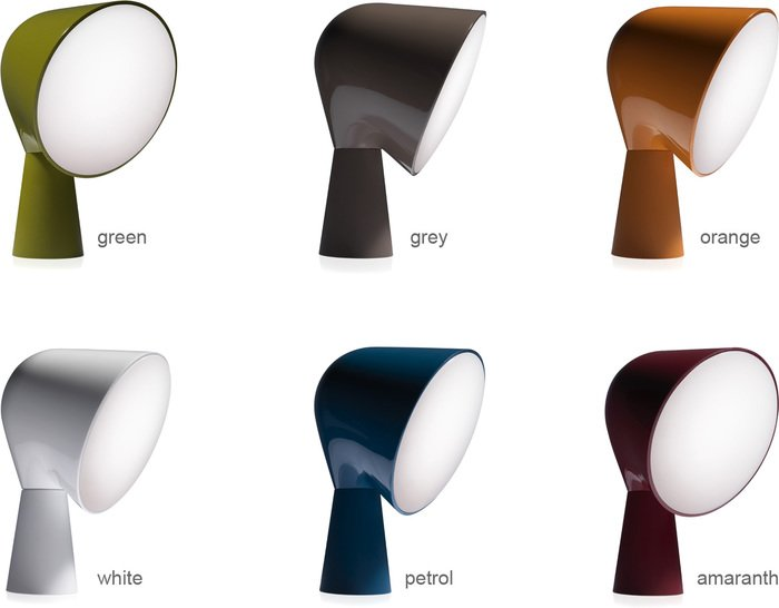 ionna vautrin: la lampada da tavolo binic