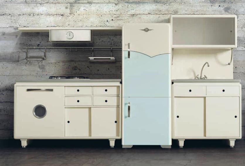 Cucine Dialma Brown: nuovi modelli ispirati agli anni \'50