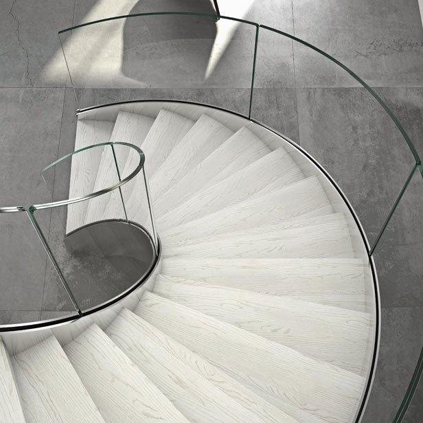 Scale elicoidali di design