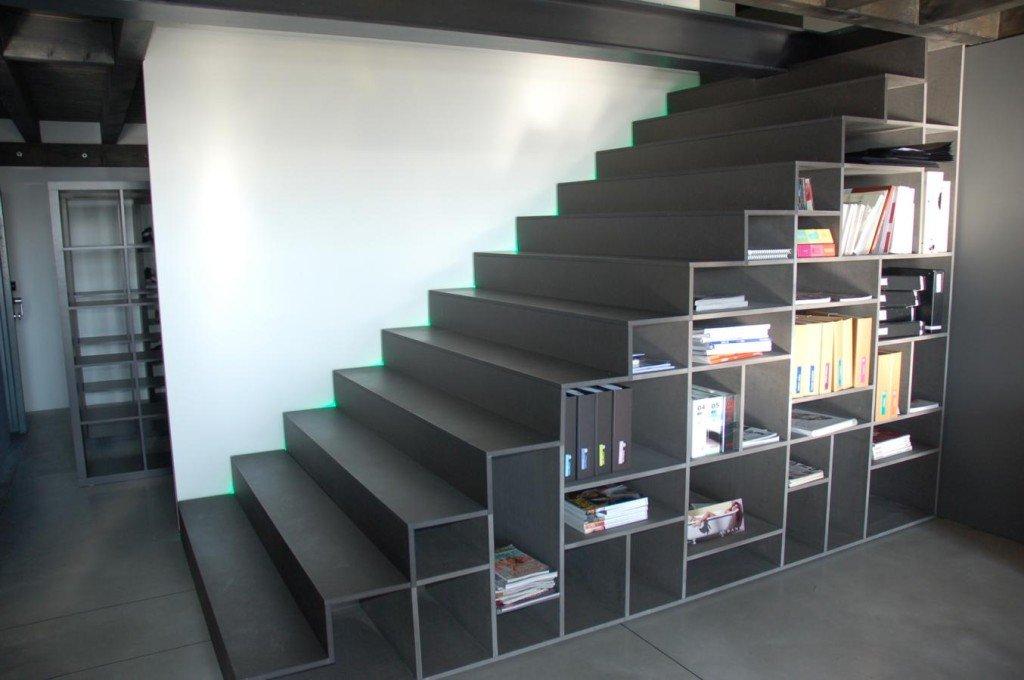 Le scale libreria