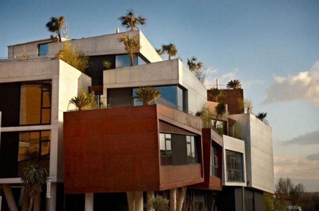 coprire il terrazzo moderno