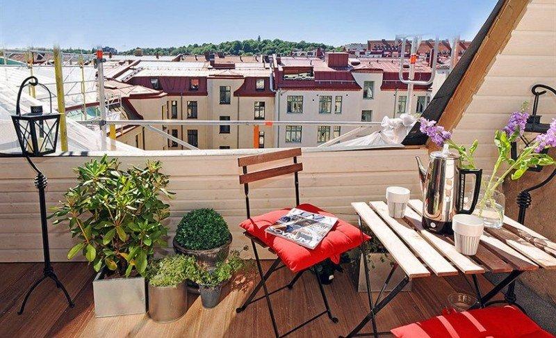 coprire il terrazzo con il legno