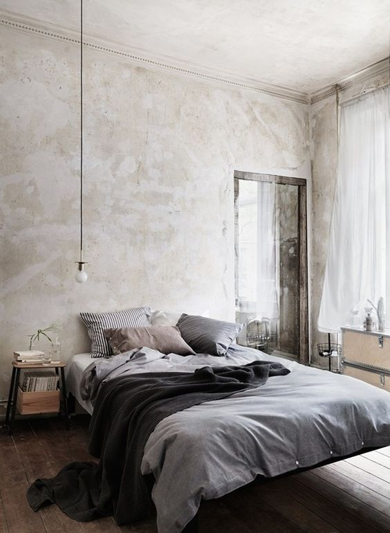 elementi decorativi in stile industrial per la camera