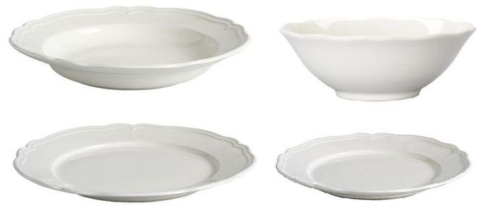 Tavolo shabby chic consigli per arredare una tavola romantica - Servizio piatti quadrati ikea ...