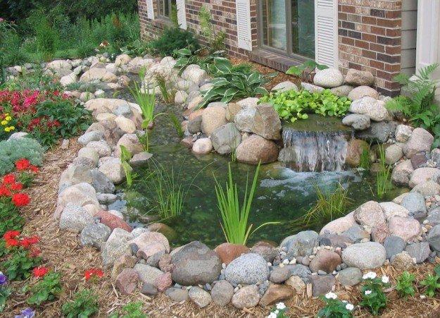 Sassi da giardino consigli per decorare il vostro giardino - Idee per aiuole giardino ...