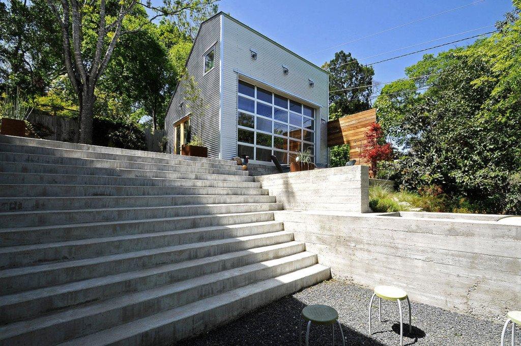 Scale in cemento per esterni caratteristiche e propriet designandmore arredare casa - Scale esterne ville ...