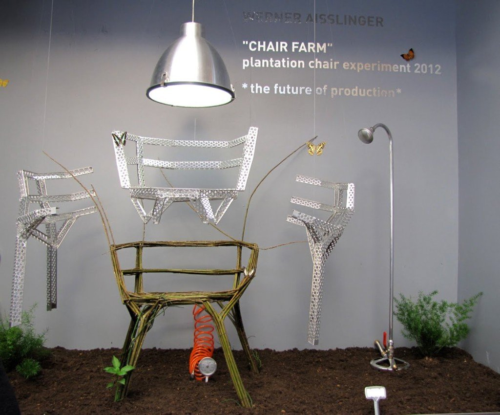 Chair Farm Aisslinger : Chair farm di werner aisslinger la sedia che è una pianta