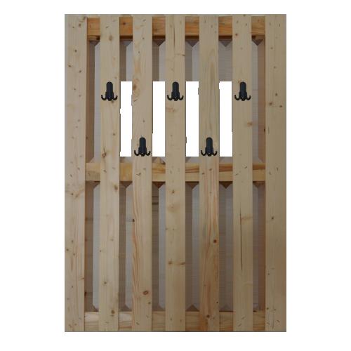 Come costruire un appendiabiti materiali e procedimento fai da te designandmore arredare casa - Parete in legno fai da te ...