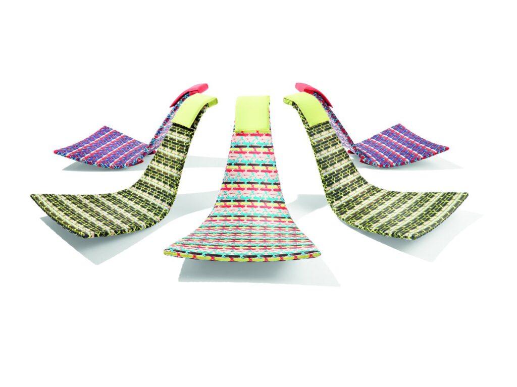 Chaise longue da giardino: davvero originale i modelli della fedro dedon