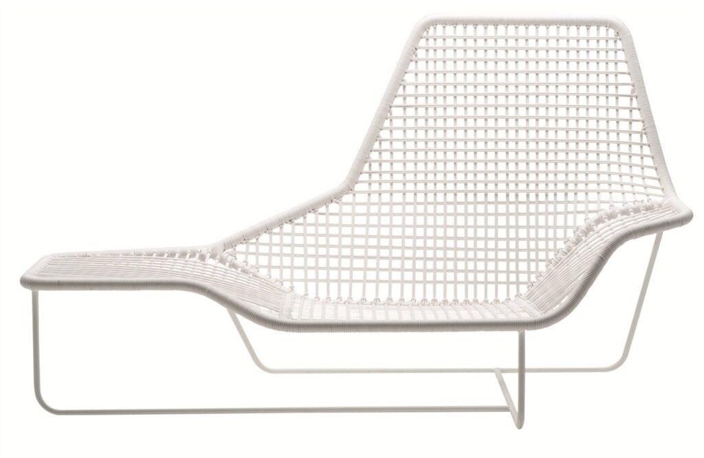 Chaise longue da giardino: lama zanotta
