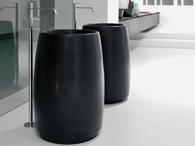 lavabi freestanding: molto belli anche neri