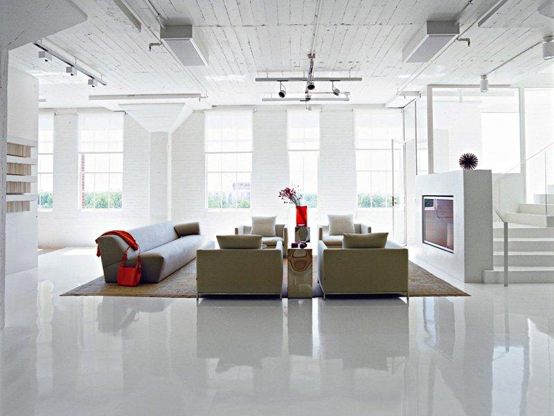 Resina in soggiorno scopriamo i pro ed i contro di questa scelta designandmore arredare casa - Pavimenti in cemento per interni pro e contro ...