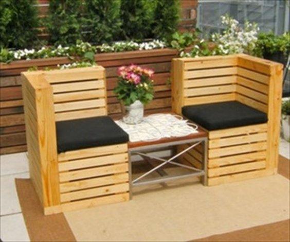 Progetto Tavolo Da Giardino.Come Costruire Una Sedia Da Giardino Con I Pallet Materiali E