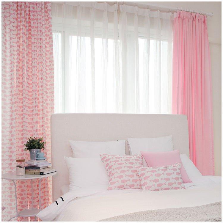 tende fresche camera da letto