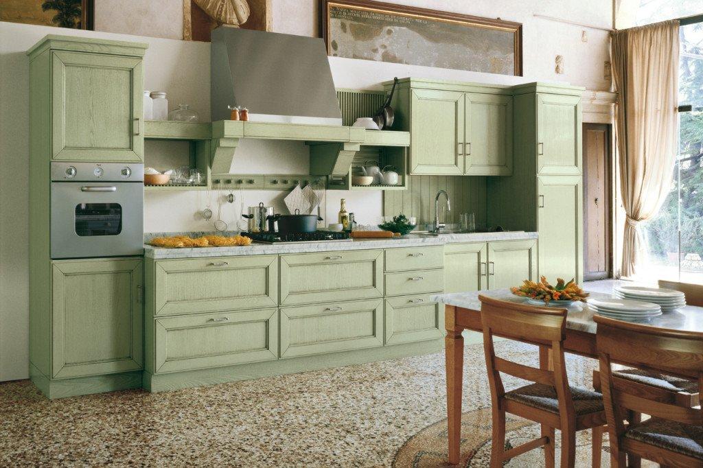 Pareti Cucina Verdi ~ Home Design e Ispirazione Mobili