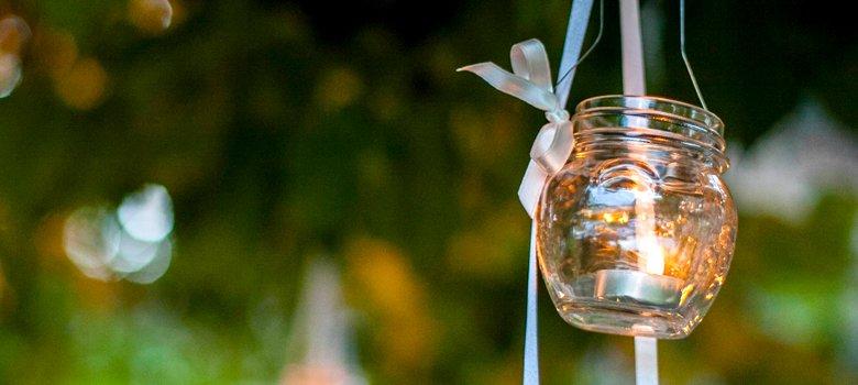 lanterne riciclo creativo con i vasetti