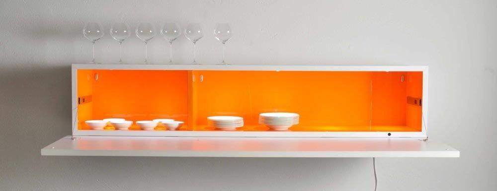 Come organizzare lo spazio in cucina: guardate che eleganti queti ...