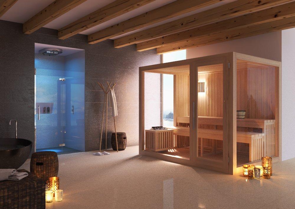 Sauna in casa come introdurre una sauna nel nostro bagno - Costo sauna in casa ...