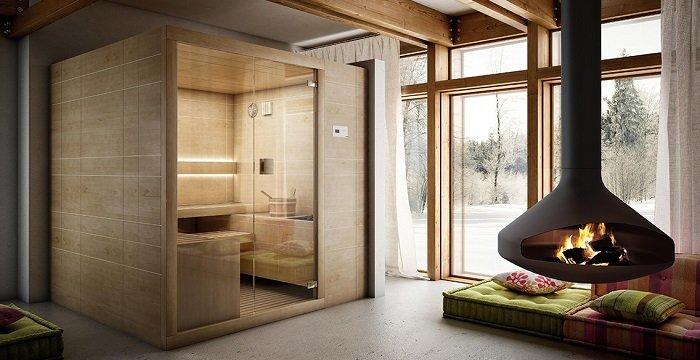 Sauna in casa come introdurre una sauna nel nostro bagno - Costruire palestra in casa ...