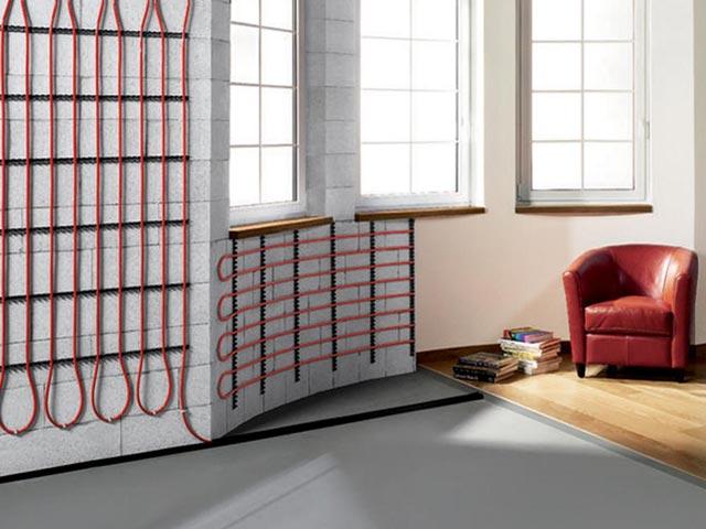 Pannelli radianti in argilla: ottimo esempio di sistema radiante a parete