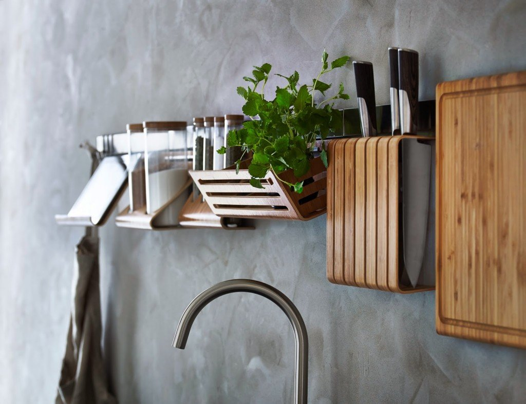 Binari appendi oggetti per la cucina: Ikea, Leroy Merlin e Tescoma ...