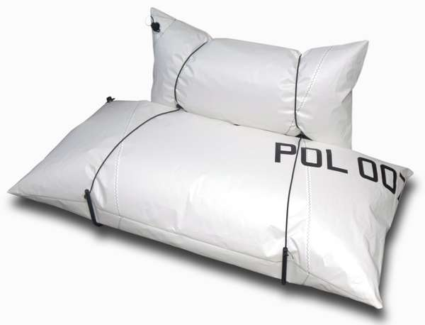 blow sofa per arredare il soggiorno in stile ecologico