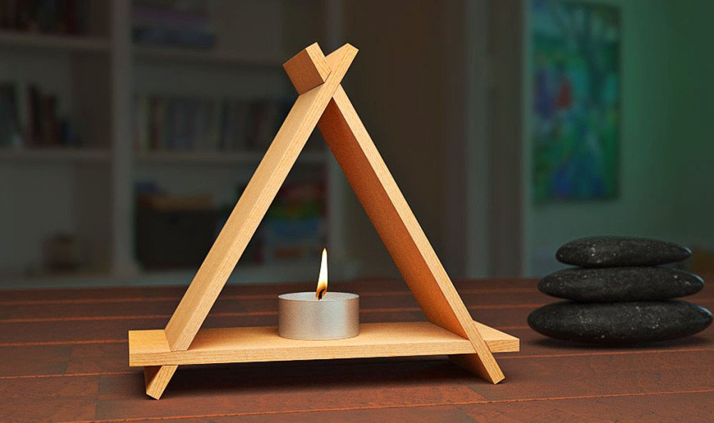 cedar aroma pyramid