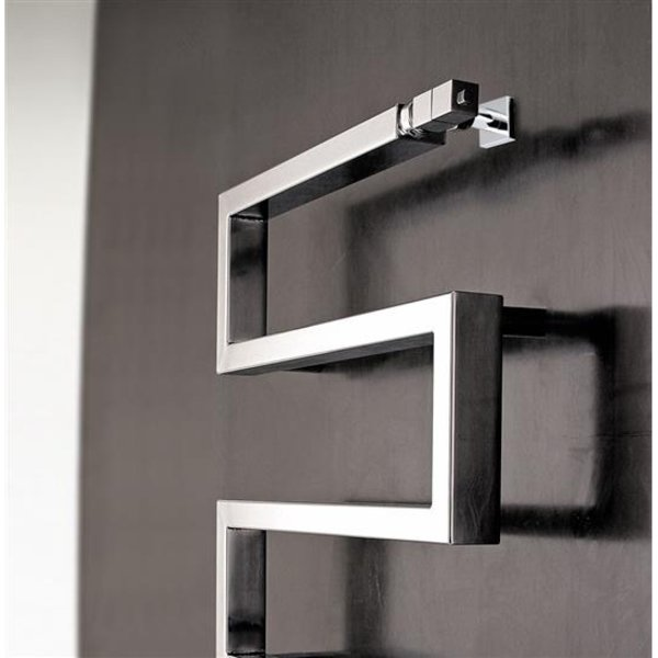 Scaldasalviette per il bagno elettrico o ad acqua calda modelli e prezzi designandmore - Termosifone elettrico da parete ...