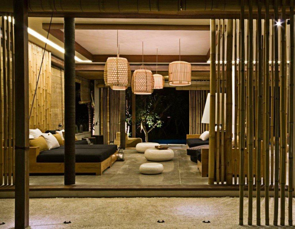 Mobili in bambù: esempi di arredo interni ed esterni ...