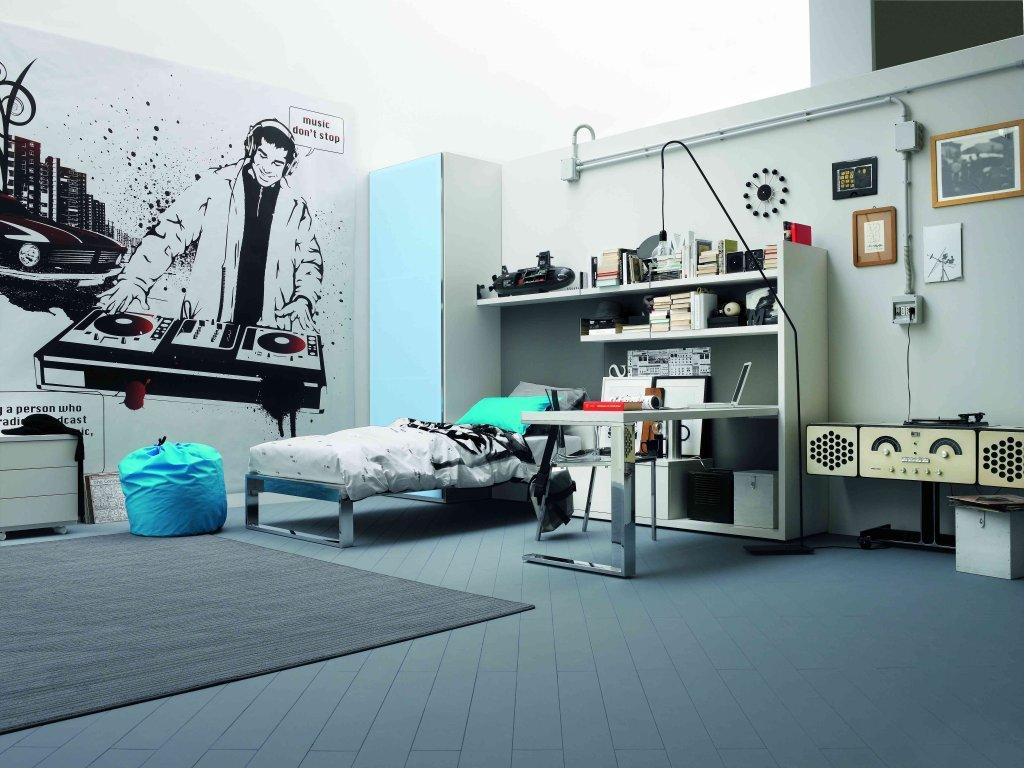 Come arredare la camera dei teenager con stile for Idee per arredare camera ragazzo