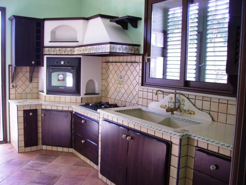 Cucine in muratura rustiche e moderne idee e suggerimenti designandmore arredare casa - Cucine in muratura costi ...