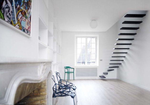 ecole flat#1 scale moderne